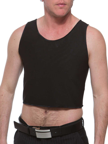 Binder: Cotton-Lined Tri-Top Black