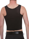 Cotton-Lined Tri-Top Binder: BLACK (975)