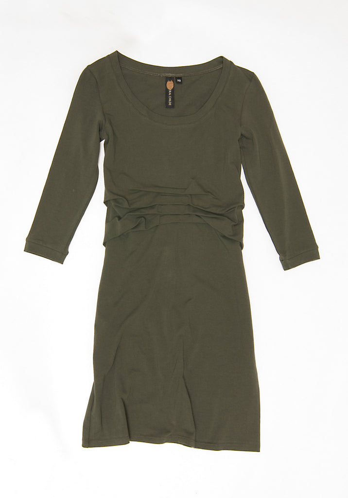Bookbinder Dress (Seaweed)
