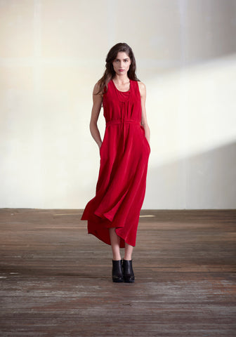 Bookends Dress (Red)