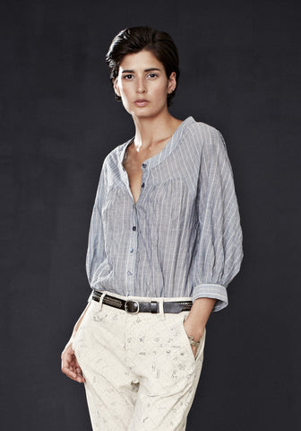 Borrower's Blouse (Stripe)