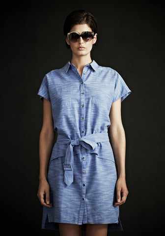 Nova Shirtdress in Khadi