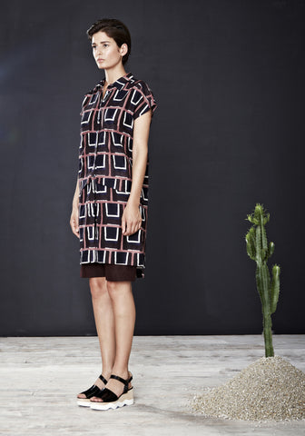 Nova Shirtdress in Void