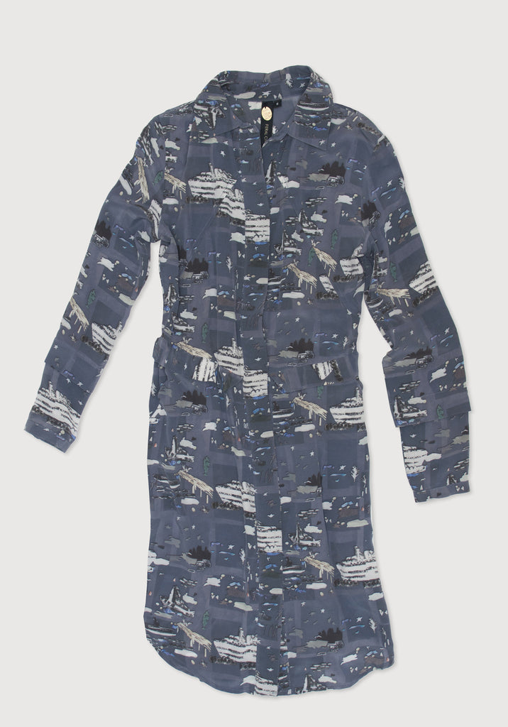 Shoreline Shirtdress (Print)