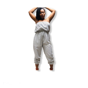 In A Daze plus-size jumpsuit