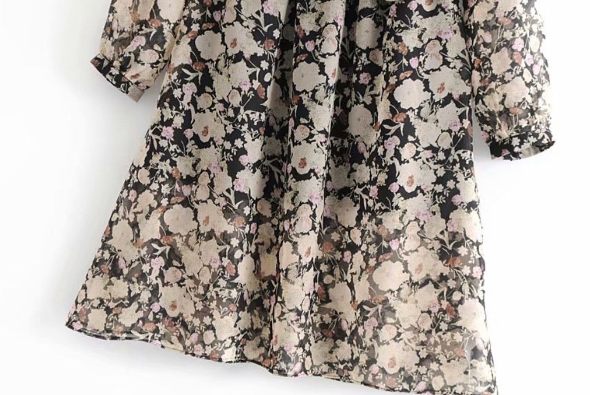 Desert Rose floral dress