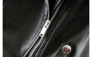 Hendrix asymmetric zippered jacket