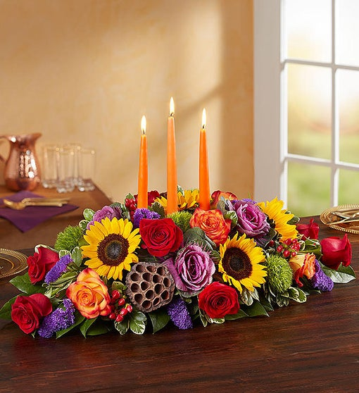 Thanksgiving Grandeur centerpiece