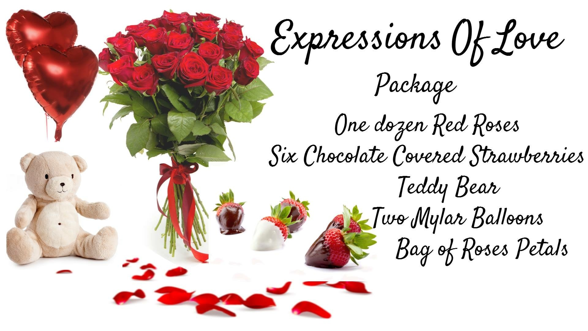 Expressions  Of Love package