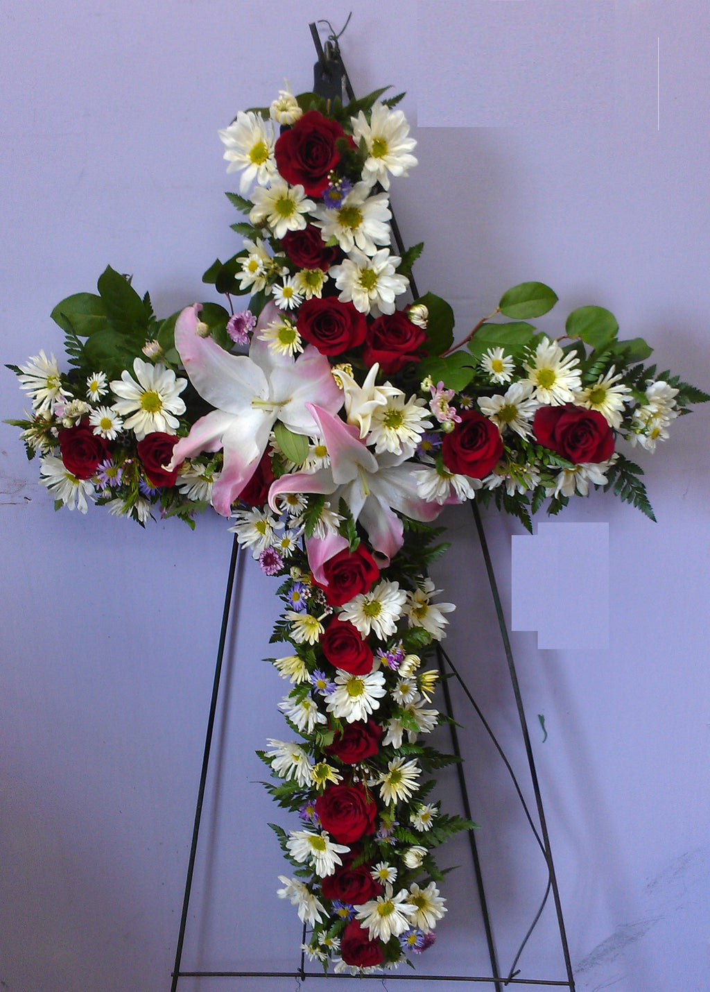 Peace & Remembrance Standing Cross