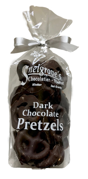 Bagged Dark Chocolate Mini Pretzels