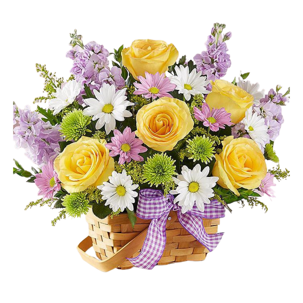 Spring Wishes Basket