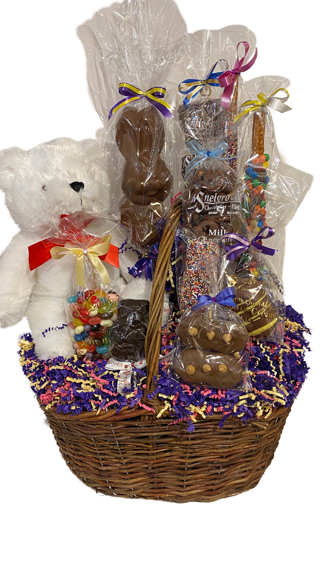 Large Chocolate Easter Basket