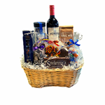 Wine & Chocolate basket