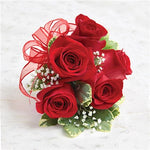 Wrist Corsage - Red Rose