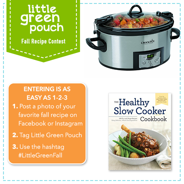 Fall Recipe Contest Enter To Win Little Green Pouch
