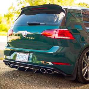Extended Diffuser Fins - MK7.5 Golf R
