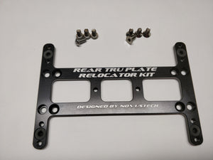 Rear TRU Plate Relocator Kit - Alltrack / Golf / GTI / R