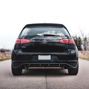 Extended Diffuser Fins - MK7 GTI