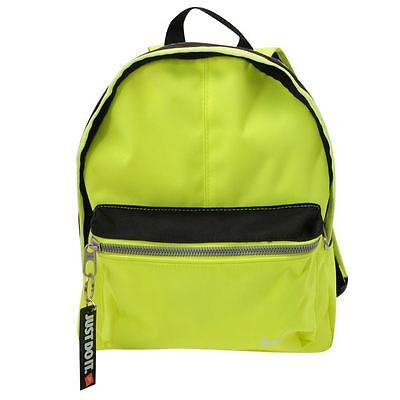 NIKE FUNDAMENTALS MINI BACKPACK NEON/BLACK