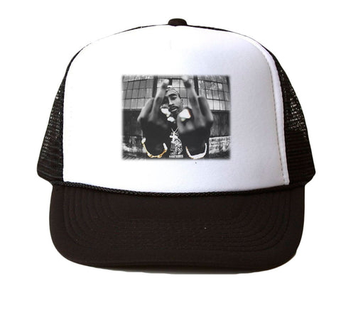 2PAC GET AT ME TRUCKER HAT