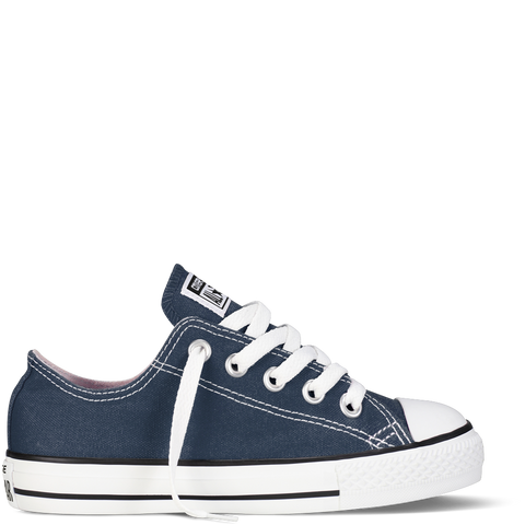 CONVERSE CHUCK TAYLOR ALL-STAR LO TODDLERS/YOUTH IN NAVY