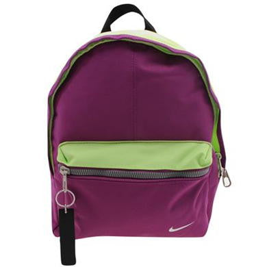 NIKE FUNDAMENTALS MINI BACKPACK GREEN/PURPLE
