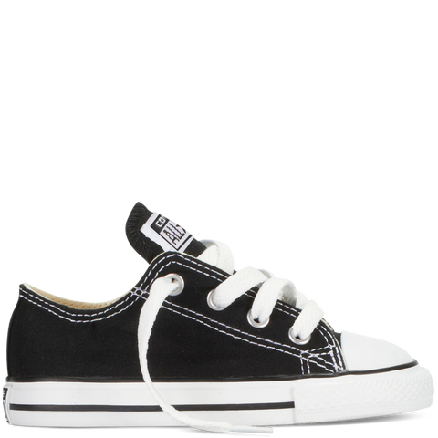 CONVERSE CHUCK TAYLOR ALL-STAR LO TODDLERS/YOUTH IN BLACK