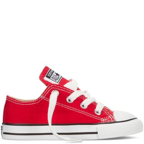 CONVERSE CHUCK TAYLOR ALL-STAR LO TODDLERS/YOUTH IN RED