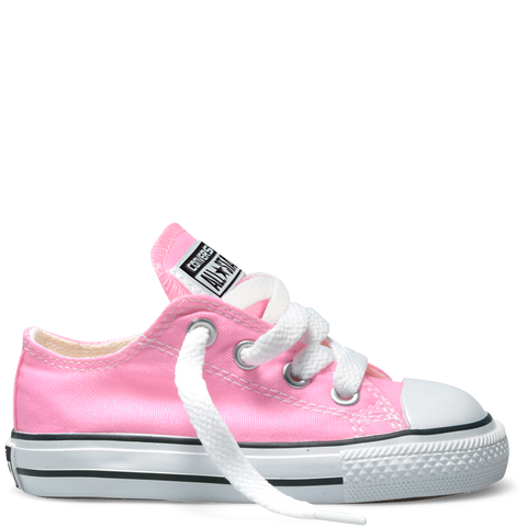 CONVERSE CHUCK TAYLOR ALL-STAR LO TODDLERS/YOUTH IN PINK