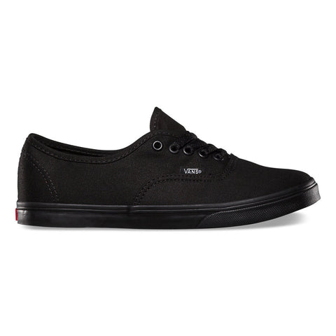VANS AUTHENTIC LO PRO IN BLACK/BLACK