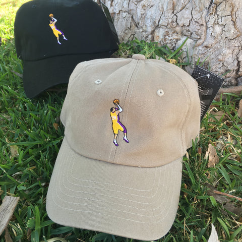 "KOBE BRYANT ""FADEAWAY"" UNSTRUCTURED DAD HAT"