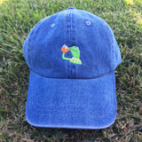 """NONE OF MY BUSINESS"" UNSTRUCTURED DAD HAT"