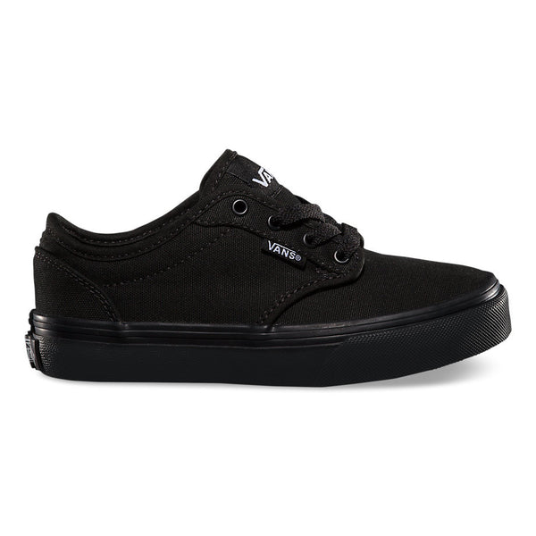 VANS KIDS ATWOOD CANVAS IN BLACK/BLACK
