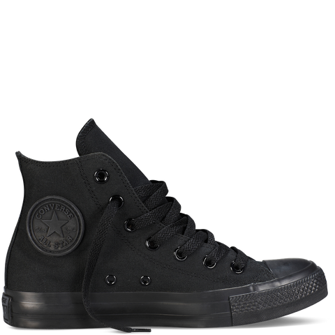 CONVERSE CHUCK TAYLOR ALL-STAR IN BLACK MONOCHROME
