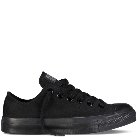 CONVERSE CHUCK TAYLOR ALL-STAR LO IN BLACK MONOCHROME