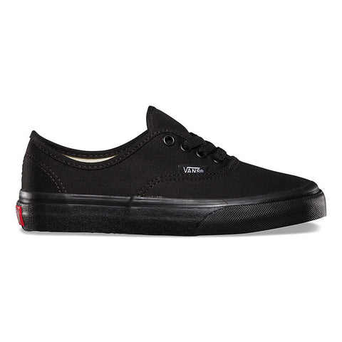 VANS KIDS AUTHENTIC IN BLACK/BLACK