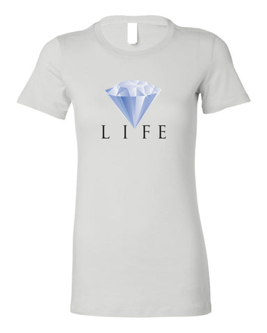 DIAMOND LIFE WOMEN'S T-SHIRT