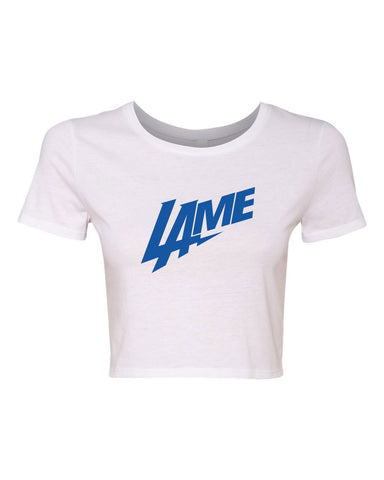 LAME CHARGERS WOMEN'S CROP T-SHIRT