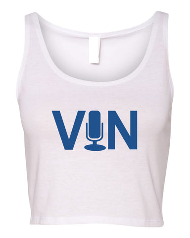 VIN SCULLY WOMEN'S CROP TANK