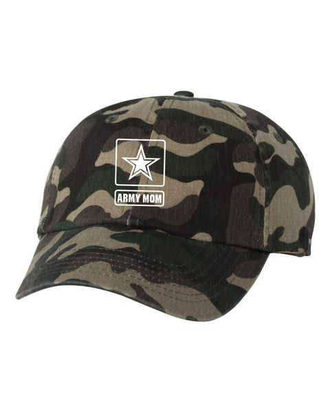 ARMY MOM UNSTRUCTURED DAD HAT