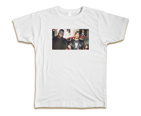 2PAC AND BIGGIE - MEN'S T-SHIRT