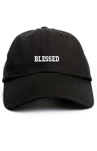 BLESSED UNSTRUCTURED DAD HAT