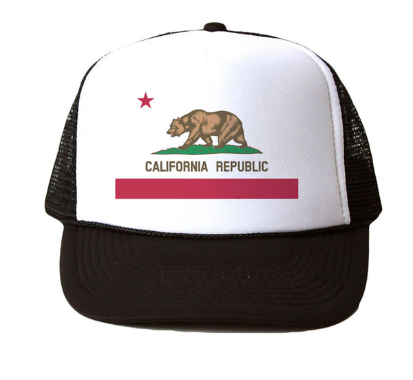 CALIFORNIA REPUBLIC - MESH TRUCKER HAT
