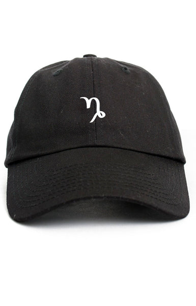 CAPRICORN ZODIAC SYMBOL UNSTRUCTURED DAD HAT
