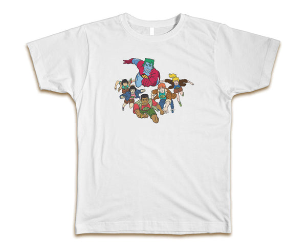 CAPTAIN PLANET - MEN'S T-SHIRT