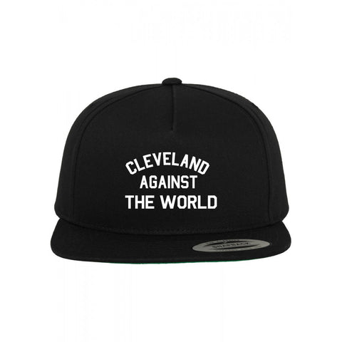 CLEVELAND AGAINST THE WORLD SNAPBACK HAT