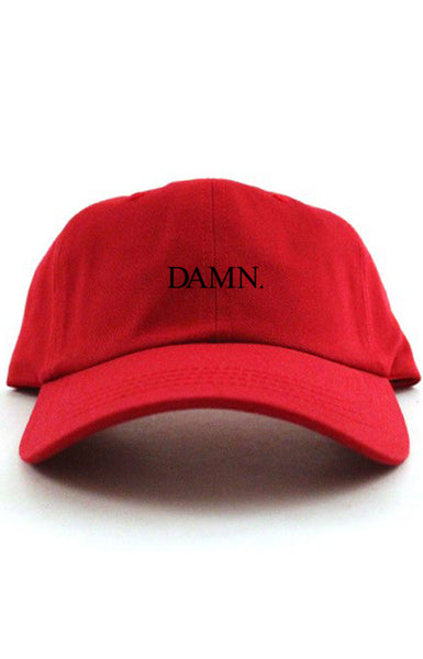 DAMN. - UNSTRUCTURED DAD HAT