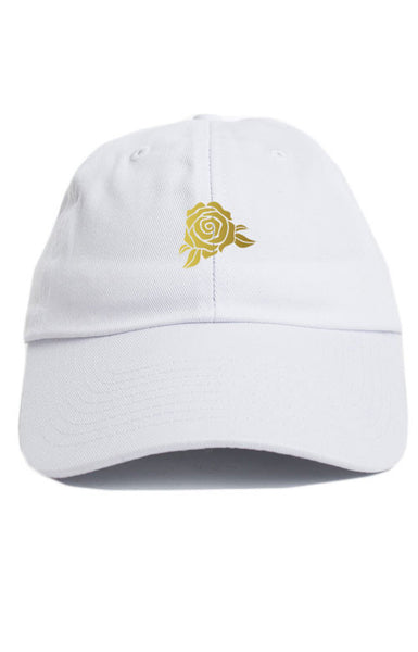 GOLD ROSE UNSTRUCTURED DAD HAT