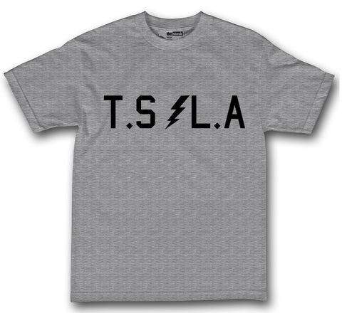 theSTASH GRINDERS KEEPERS T-SHIRT IN GREY